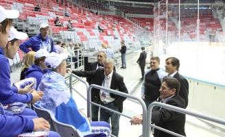 Встреча с Легендами хоккея на Фестивале НХЛ в Сочи 2013
