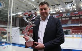 Матч открытия Ночной хоккейной лиге в Москве