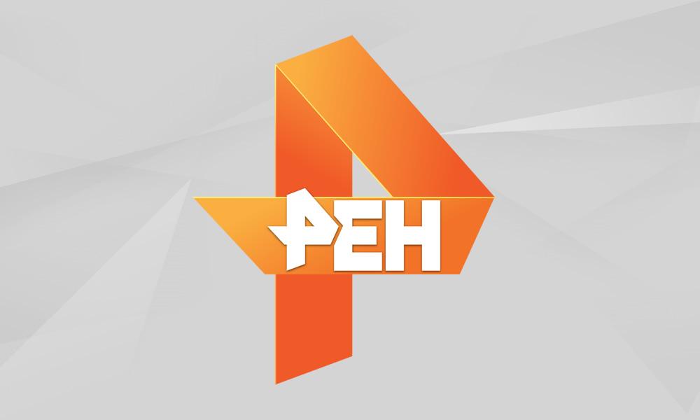 Сюжет «Плющенко и Мостовой играют в хоккей» на РЕН ТВ