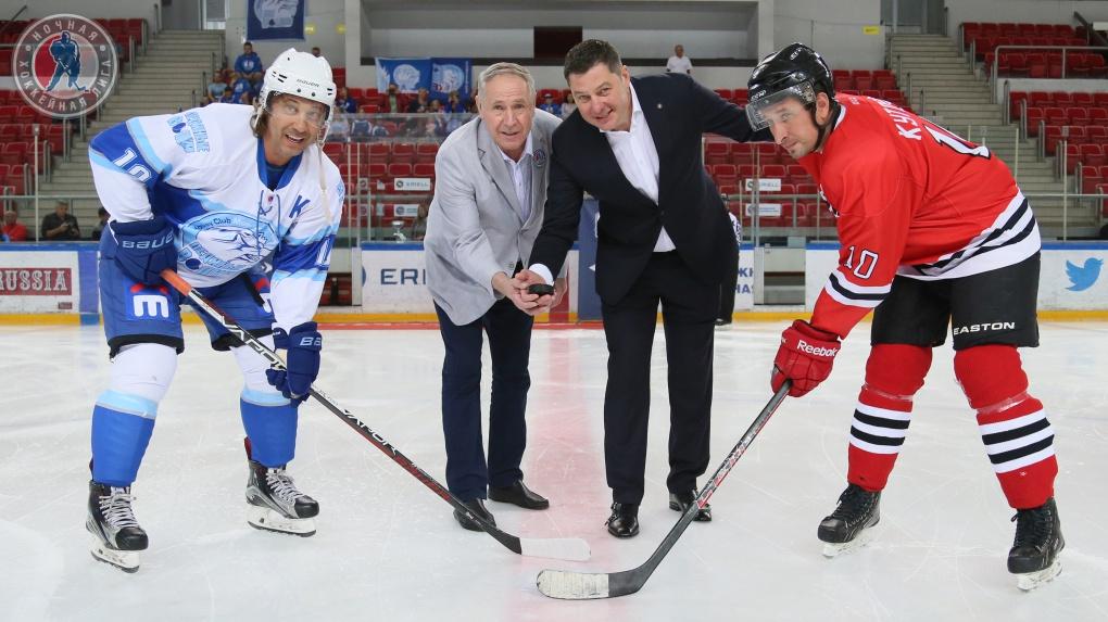 Ледяные Волки открыли сезон 2018-2019 Ночной хоккейной лиги